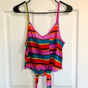 Urban outfitters rainbow tank
